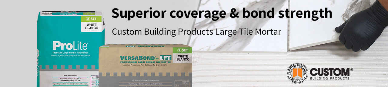 Custom Building Products Large Tile Mortar