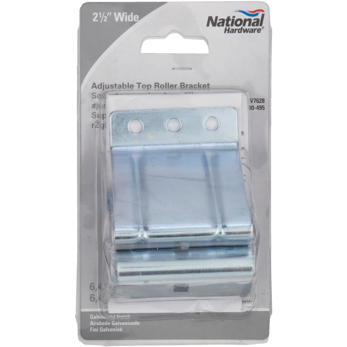 National Garage Door Adjustable Top Roller Bracket Image 2