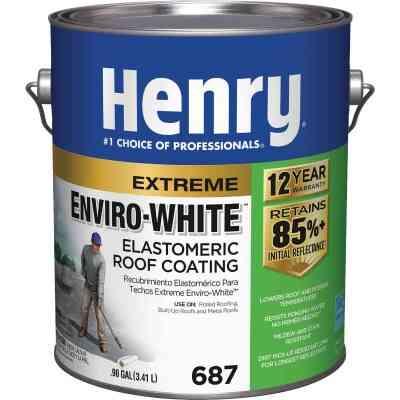 Henry Enviro-White 1 Gal. Acrylic Elastomeric Roof Coating