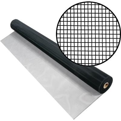 Phifer 30 In. x 100 Ft. Black Aluminum Screen