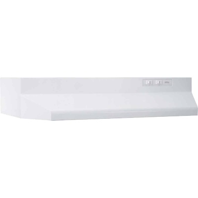 Broan-Nutone 40000 Series 30 In. Ducted White Range Hood