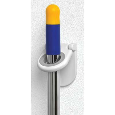 Spectrum Rubber Grip Mop and Broom Storage Hook