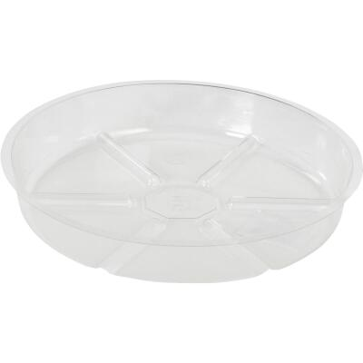 Best Garden 8 In. Clear Vinyl Flower Pot Saucer
