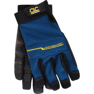 CLC Workright XC Men's Medium Synthetic Leather Flex Grip High Performance Glove