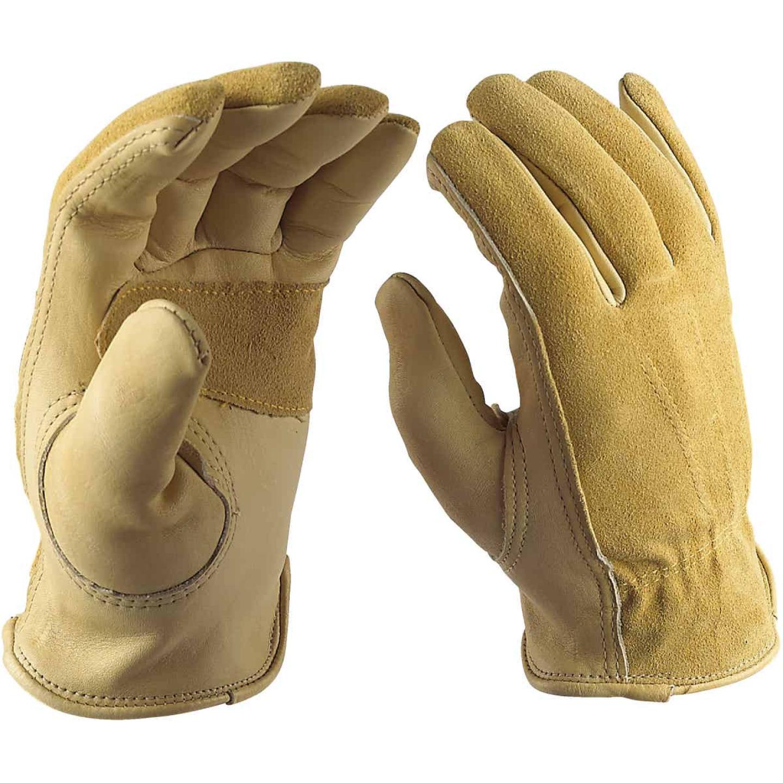 Wells Lamont Women's Medium Grain Cowhide Leather Work Glove Image 3