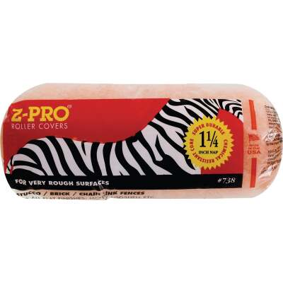 Premier Z-Pro Zebra 9 In. x 1-1/4 In. Knit Fabric Roller Cover