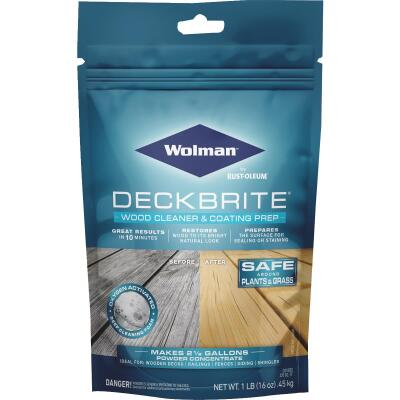 Wolman DeckBrite 1 Lb. Wood Cleaner & Coating Prep